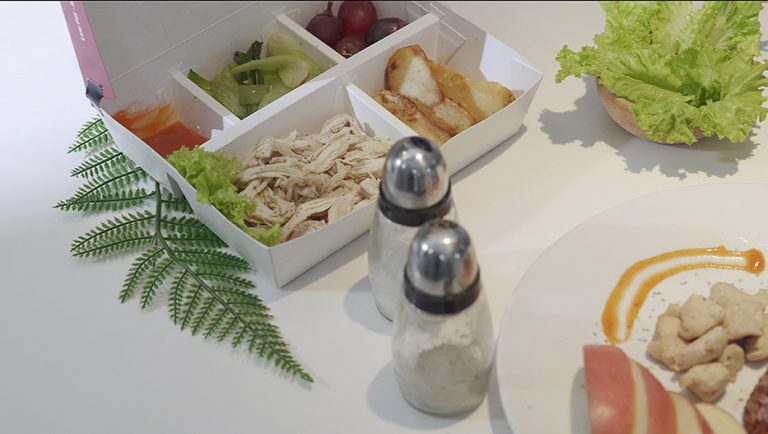 pesan lunch dinner makanan sehat m kitchen