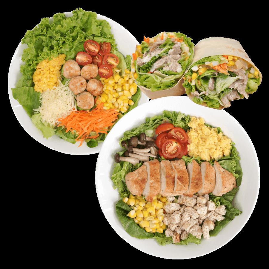 healthy salad m kitchen